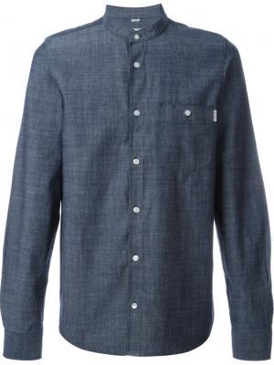 Рубашка с нагрудным карманом Carhartt. Цвет: синий
