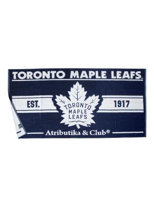 Полотенце NHL Maple Leafs Atributika & Club. Цвет: синий