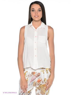 Блузка Fullah Sugah. Цвет: бледно-розовый