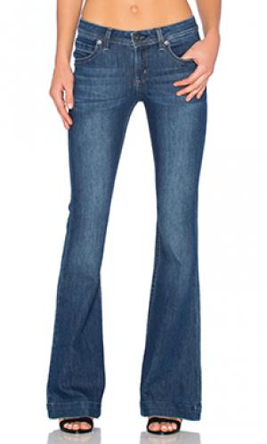 Расклешенные джинсы joy DL1961. Цвет: none