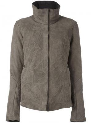 Куртка Imprudente с пуховым наполнителем Isaac Sellam Experience. Цвет: зелёный