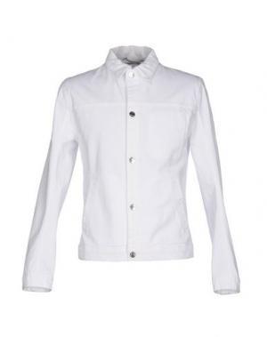 Джинсовая верхняя одежда HELMUT LANG. Цвет: белый