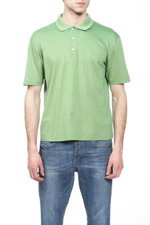 Поло ZIMMERLI. Цвет: зеленый(620)