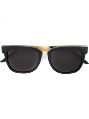 Солнцезащитные очки People Francis Retrosuperfuture. Цвет: чёрный