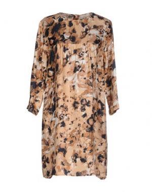 Короткое платье E_GO' SONIA DE NISCO. Цвет: песочный
