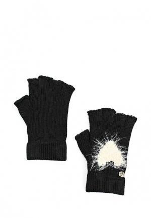 Митенки Armani Jeans. Цвет: черный