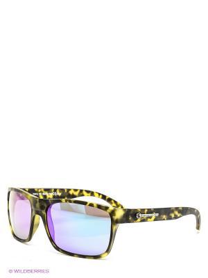 Солнцезащитные очки Franco Sordelli. Цвет: хаки