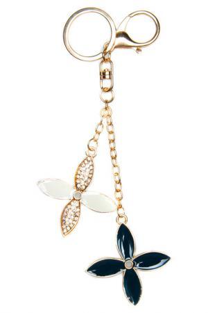 Брелок для ключей BELLA ROSA. Цвет: золотой