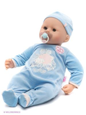 Игрушка Baby Annabell Кукла-мальчик с мимикой, 46 см. ZAPF. Цвет: голубой