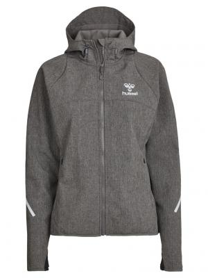 Куртка CLASSIC BEE WO JORI SOFTSHELL HUMMEL. Цвет: серый