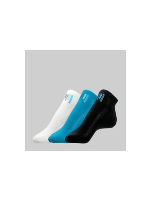 Носки Conte ACTIVE 7С-41СП комплект 3 пары Elegant. Цвет: белый, черный, синий