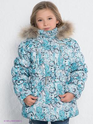 Куртка Devance. Цвет: бирюзовый