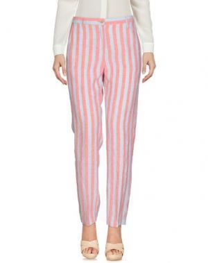 Повседневные брюки MASSIMO ALBA. Цвет: коралловый