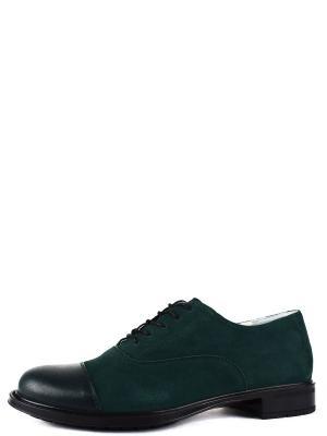 Туфли BERG. Цвет: зеленый