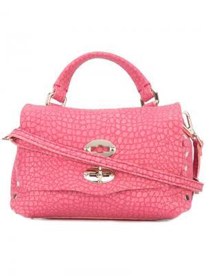 Shoulder bag Zanellato. Цвет: розовый и фиолетовый