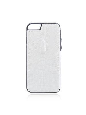 Накладка Brosco Croco для Apple IPhone 6+/ 6S+, Rosco. Цвет: белый