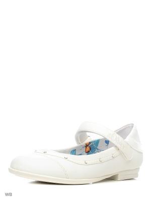 Туфли S.OLIVER. Цвет: белый