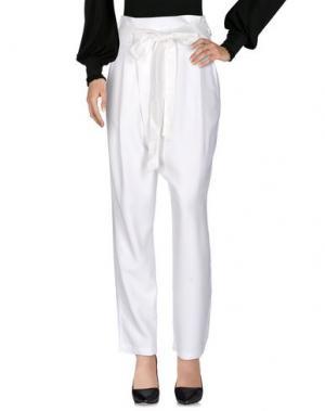 Повседневные брюки SEA. Цвет: белый