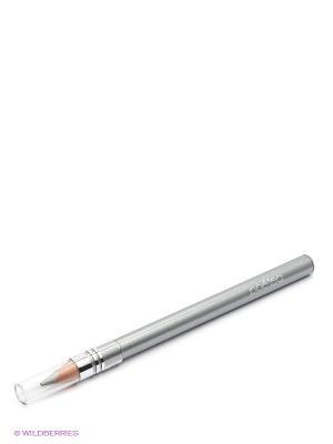 Гелевый карандаш для глаз Аква, тон 61 POETEQ. Цвет: серебристый