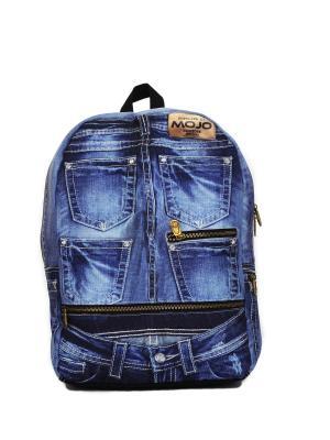 Рюкзак Mojo Backpacks. Цвет: синий