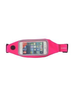 Пояс для телефона RH01 ROMIX. Цвет: розовый