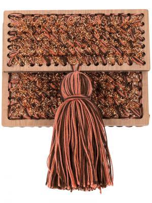 Клатч Katerina Copacabana 711. Цвет: коричневый