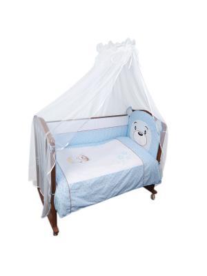 Комплект Умка 6 предметов Сонный гномик. Цвет: голубой