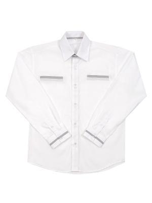Рубашка длинный рукав Pinetti. Цвет: белый