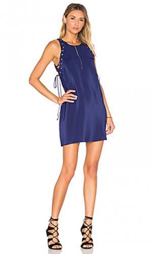 Платье allegra Amanda Uprichard. Цвет: синий
