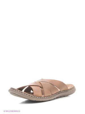 Пантолеты Dino Ricci. Цвет: коричневый