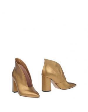 Полусапоги и высокие ботинки FAUZIAN JEUNESSE. Цвет: золотистый