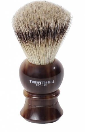 Помазок, Шерсть барсука / Рог с серебром Regency Truefitt&Hill. Цвет: бесцветный