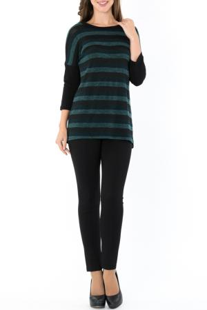 Туника S&A style. Цвет: зелено-черный