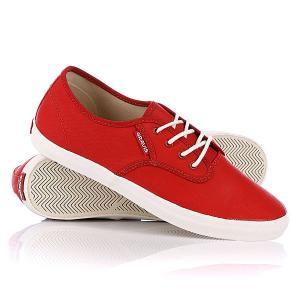 Кеды кроссовки  Slymz Wax Bossa Nova Gravis. Цвет: красный