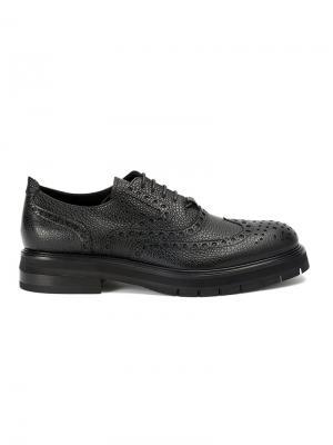 Туфли-броги Bruno Bordese. Цвет: чёрный