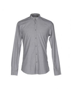 Pубашка ..,BEAUCOUP. Цвет: светло-серый