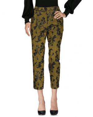Повседневные брюки TELA. Цвет: зеленый-милитари