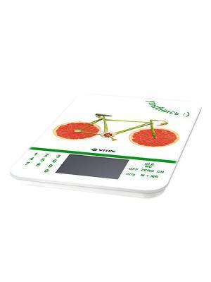 Кухонные весы Vitek VT-2413(W). Цвет: белый