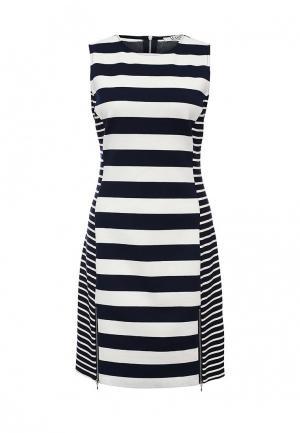 Платье MAST. Цвет: черно-белый