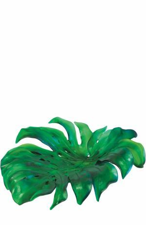 Ваза для фруктов Monstera Daum. Цвет: зеленый