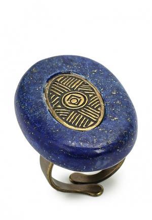 Кольцо Nature bijoux. Цвет: синий