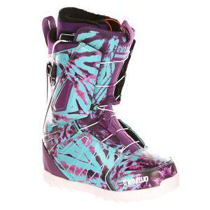 Ботинки для сноуборда женские  Z Lashed Ft Assorted Thirty Two. Цвет: фиолетовый,голубой