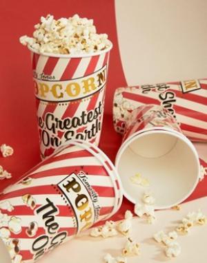 Temerity Jones Carnival Party Popcorn Cups. Цвет: мульти