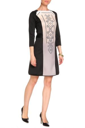 Платье LEIDIRO. Цвет: черный, белый
