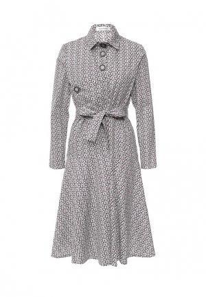 Платье Tutto Bene. Цвет: черно-белый