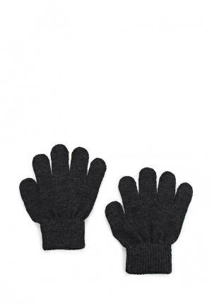 Перчатки Button Blue. Цвет: черный
