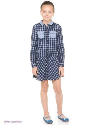 Платье Tommy Hilfiger. Цвет: темно-синий