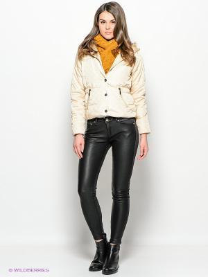 Куртка Ada Gatti. Цвет: кремовый
