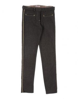 Повседневные брюки LAURA BIAGIOTTI DOLLS. Цвет: темно-коричневый
