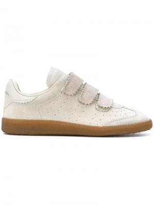 Front strap sneakers Isabel Marant. Цвет: телесный